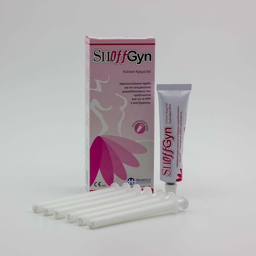 SILOffGyn Vaginal Cream για εξάμηνη αγωγή