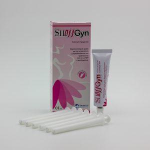 SILOffGyn Vaginal Cream 30ml με 6 απλικατέρ σε πακέτο των τεσσάρων (4) αλοιφών για τρίμηνη αγωγή.